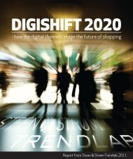 - how the digital channels shape the future of shopping
