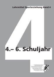 Lehrmittel Sporterziehung – Band 4: 4.–6. Schuljahr - mobilesport.ch