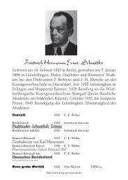 Friedrich Hermann Ernst Schneidler - Klingspor-Museum