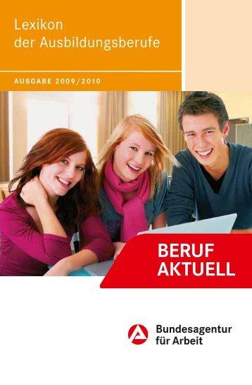 Lexikon der Ausbildungsberufe - BERUF AKTUELL