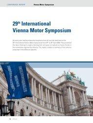 29th International Vienna Motor Symposium