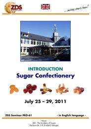 Sugar Confectionery - Zentralfachschule der Deutschen ...