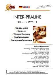 inter-praline - Zentralfachschule der Deutschen Süßwarenwirtschaft