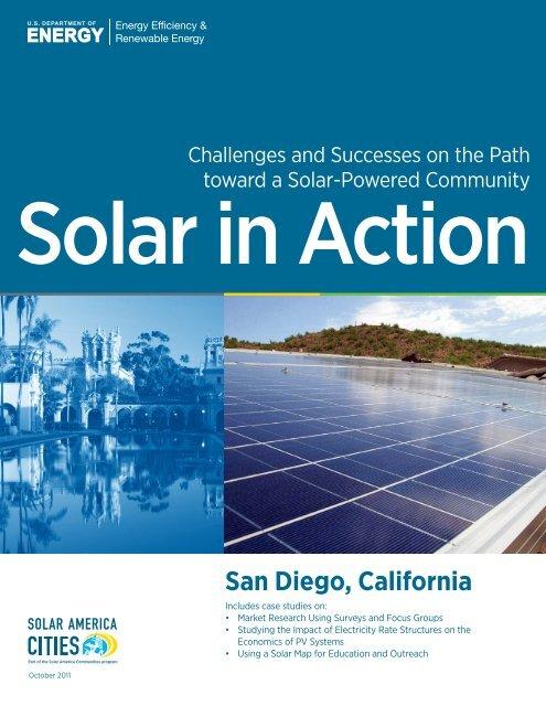 Solar in Action - EERE - U S  Department of Energy