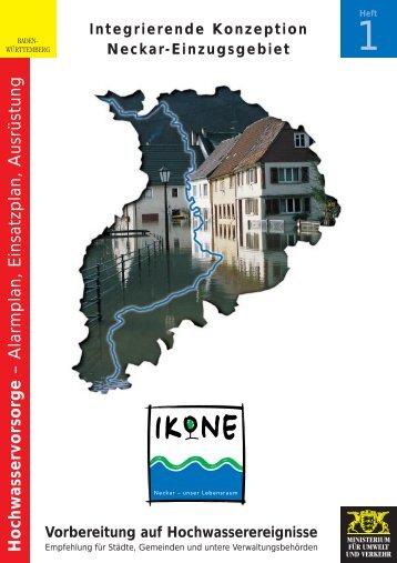 IKoNE Heft 1 - Wasser- und Schifffahrtsamt Stuttgart
