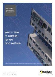 2012 EWI Refurbishment Guide.pdf, pages 1-13 - Weber