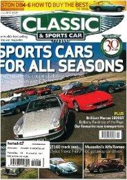 02 2012 Classic & Sports Car - Brilliant Marcos 1800 GT