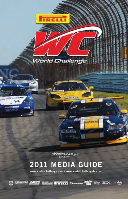 2011 Media Guide PDF - World Challenge