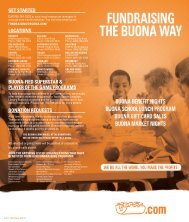LOCATIONS GET STARTED - Buona Beef