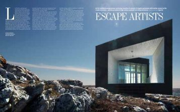 ESCAPE ARTISTS Article in the Financial Times - nirox arts