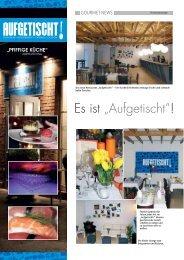 Marlen NEWS 04 09 - Aufgetischt!