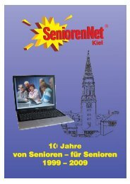 10 Jahre SNK - SeniorenNet Kiel