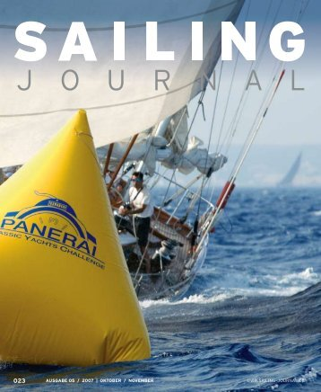 AUSGABE 05 / 2007 | OKTOBER / NOVEMBER ... - Sailing Journal