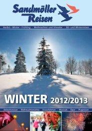 WINTER 2012/2013 - Sandmöller Reisen