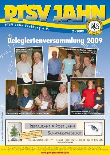 Delegiertenversammlung 2009 - PTSV Jahn Freiburg