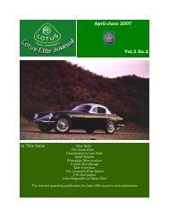 no.6 cover - Lotus Elite World Register