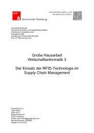 Große Hausarbeit Wirtschaftsinformatik 3 Der Einsatz ... - bei Hofer-IT