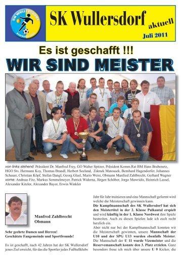 Zeitung Juli 2011 - Wullersdorf