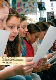 Sonderheft: Lehrmittel Spiel und Sport - beim LCH