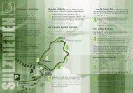 Hainich Wege Sulzrieden - Nationalpark Hainich