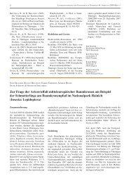 Zur Frage der Artenvielfalt mitteleuropäischer Baumkronen am ...