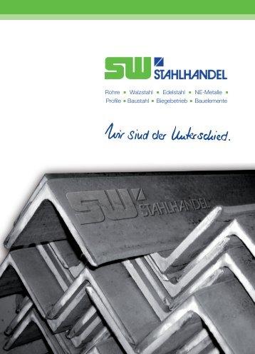 Firmenbroschüre - SW Stahlhandel GmbH