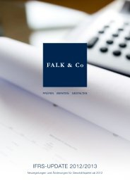 IFRS-UPDATE 2012/2013 - FALK & CO