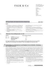 7 Umsatzsteuerliche Zuordnung von gemischt ... - FALK & CO