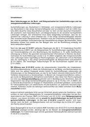Umsatzsteuer: Neue Anforderungen an die Buch- und ... - FALK & CO