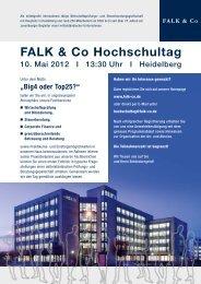 FALK & Co Hochschultag