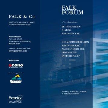 Falk Forum - FALK & CO