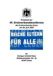 49. Kreisverbandskonferenz - Falken Essen