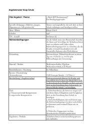 Angebotsraster Koop Schule Koop 42 Titel Angebot ... - Falken Essen