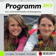 2013 Programm - Falken Essen