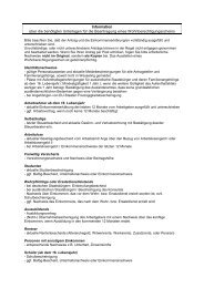 WBS: Informationen zum Antrag