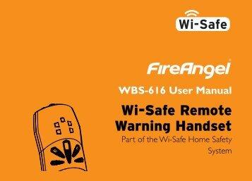 WBS-616 Handset - Fire Angel