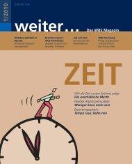 weiter... Das WBS Magazin 1/2010 - WBS Training AG