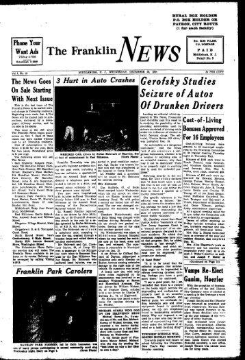 o - Franklin News-Record