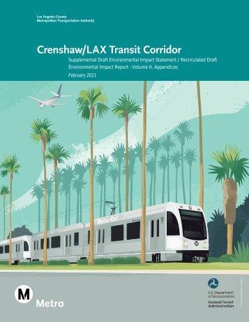 Crenshaw/LAX Transit Corridor - Metropolitan Transportation Authority