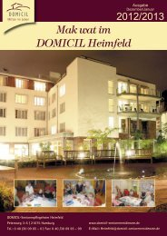 Download - DOMICIL Seniorenresidenzen