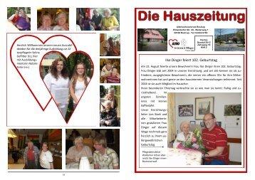 Heft 4/2012 - AWO Bezirksverband Weser-Ems