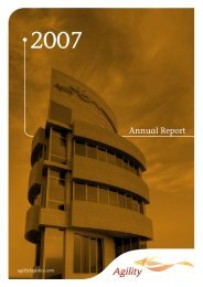 Annual Report - Agility
