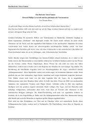 Das Buch der Toten Namen - Thomas Ritter Reisen