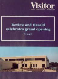 Review and Herald celebrates grand opening - Office of Archives ...