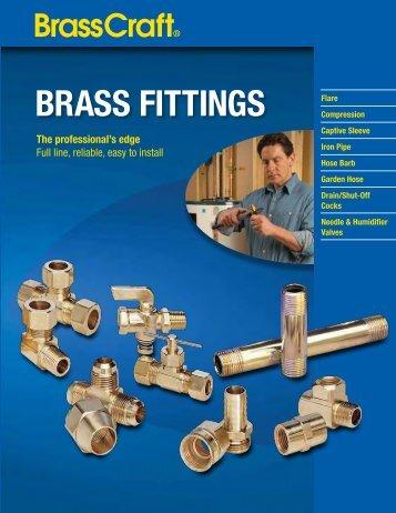 Brass Fittings Catalog - Brass Craft