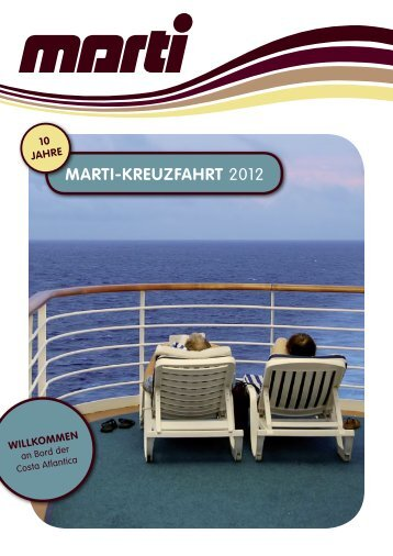 MARTI-KREUZFAHRT 2012 - Marti Reisen