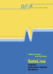 SafeLine - Safety for men and machines