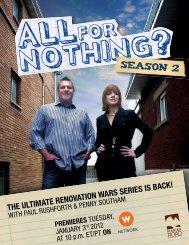 THe ULTimATe renoVATion WArs series is BACK! - Paul Rushforth ...