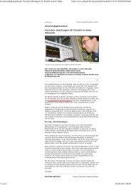 Geschwindigkeitsrekord: Forscher übertragen 26 Terabit ... - IPQ - KIT