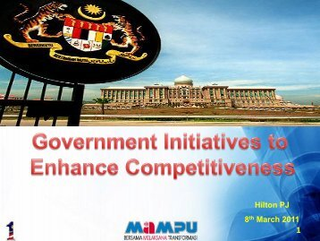 Hilton PJ 8th March 2011 - Malaysia Productivity Corporation ( MPC)